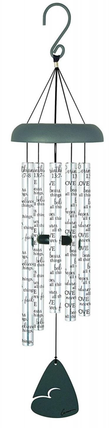 "30"" Sonnet Chime - Love Bears All Things"