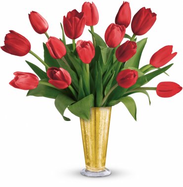Tempt Me Tulips Bouquet