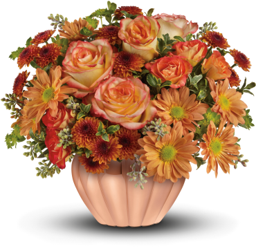 Joyful Hearth Bouquet